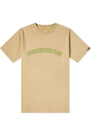 This Is Never That Men T-shirts - Arch Logo Tee