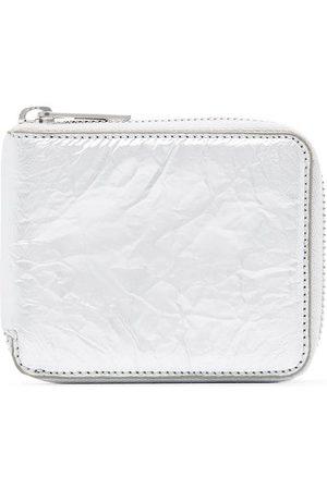 Maison Margiela Wrinkled zip-top wallet