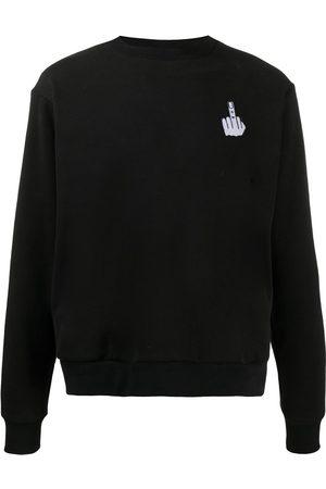 DUOltd Bat-wing cotton sweatshirt