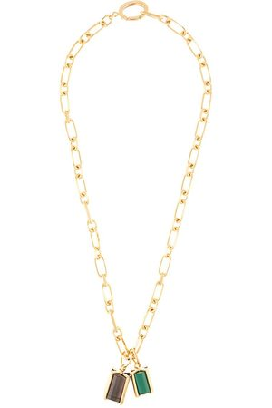 Colville Cage-pendant chain-link necklace