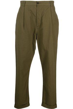 Universal Works Men Straight Leg Pants - Straight-leg cotton trousers