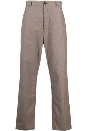 Universal Works Men Straight Leg Pants - Straight-leg cotton trousers - Neutrals