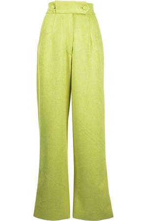 Bambah High-waisted palazzo trousers