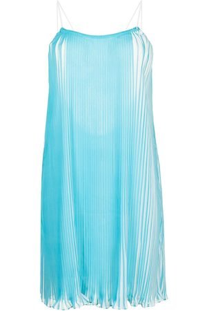 Bambah Stella plissé mini dress