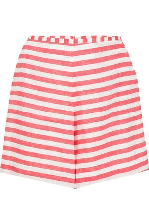 Bambah Stripe-print shorts