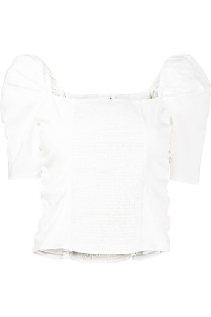 Frame Betty silk-blend top