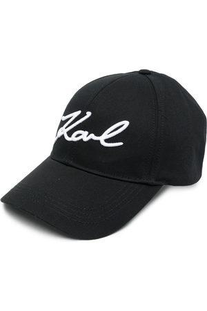 Karl Lagerfeld Embroidered logo baseball cap