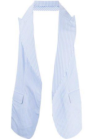 Comme des Garçons Two-tone striped waistcoat