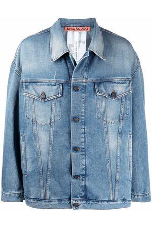 Acne Studios Denim Jackets - Drop-shoulder denim jacket