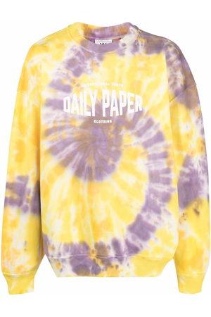 Daily paper Men Sweatshirts - X Newseum tie-dye print sweatshirt