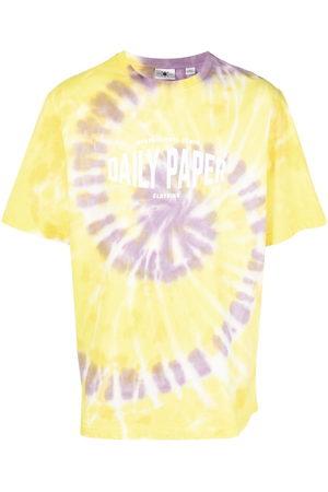 Daily paper X Newseum tie-dye print cotton T-Shirt