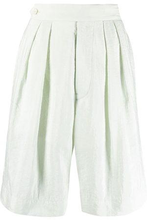Moncler Genius Women Midi Skirts - High-waisted knee-length shorts