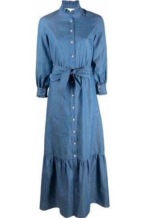 Borgo De Nor Maxi denim dress