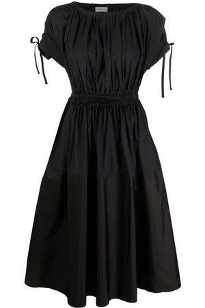Moncler Women Dresses - Drawstring waist cotton dress