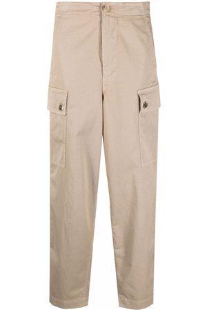 SEMICOUTURE Straight-leg cargo pants - Neutrals