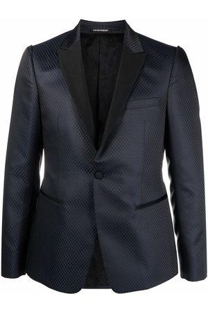 Emporio Armani Contrasting-collar dinner jacket