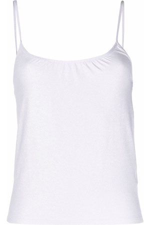Majestic Camisole fitted top - Neutrals