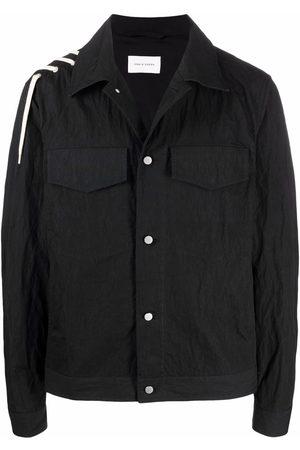 CRAIG GREEN Laced detail shirt jacket