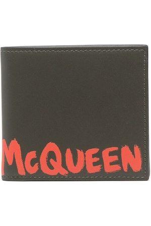 Alexander McQueen Logo-print leather wallet
