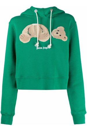 Palm Angels Bear print hoodie