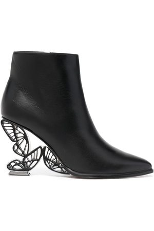 SOPHIA WEBSTER Paloma leather ankle boots