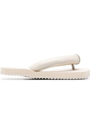 yume yume Suki padded-strap flip flops - Neutrals