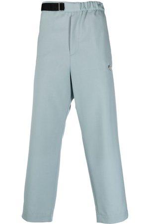 OAMC Belted virgin wool trousers