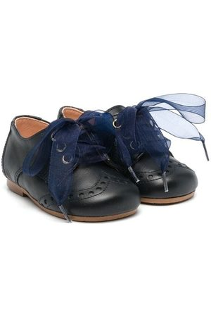 CLARYS Lace-up leather pre-walkers
