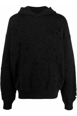 AMIRI Paint splatter-print hoodie