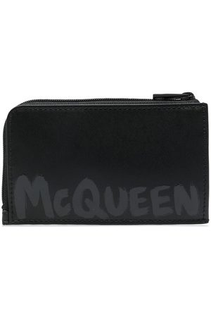 Alexander McQueen Men Wallets - Logo-print wallet