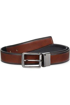 Saks Fifth Avenue Men's COLLECTION Reversible Leather Belt - - Size 40