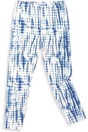 Egg New York Baby Girl's, Little Girl's & Girl's Alyssa Tie-Dye Leggings - Navy - Size 6