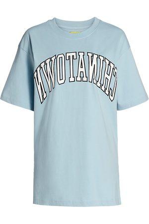 Chinatown Market Women's Reverse Arc T-Shirt - Baby - Size XL