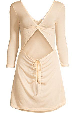 WeWoreWhat Women's Cutout T-Shirt Dress - Nude - Size XL