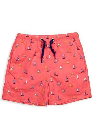 EGG New York Baby Swim Shorts - Baby Boy's, Little Boy's & Boy's Tristan Sailboat Print Swim Trunks