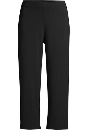 Eileen Fisher Women's Cropped Straight Pants - - Size Large