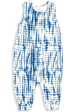Egg New York Baby Boy's Gabe Tie-Dye Tank Coveralls - Navy - Size 6 Months
