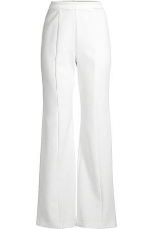 Black Halo Women's Isabella Flare Pants - Porcelain - Size 12