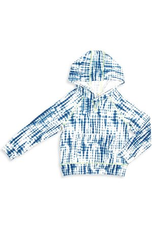 Egg New York Baby Girl's, Little Girls' & Girl's Larson Tie-Dye Hoodie - Navy - Size 8