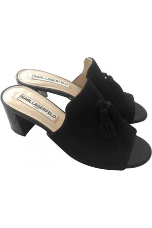 Karl Lagerfeld \N Leather Mules & Clogs for Women