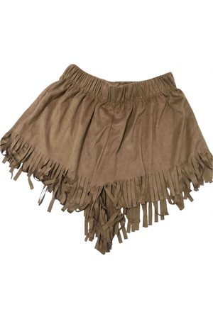 Brandy Melville \N Suede Shorts for Women