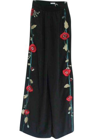 VILSHENKO \N Silk Trousers for Women