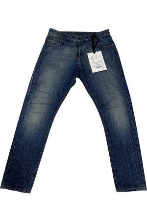 Moncler Genius Men Jeans - Moncler n°7 Fragment Hiroshi Fujiwara Cotton Jeans for Men