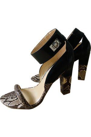 THORNTON BREGAZZI Leather sandals