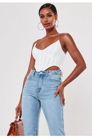Missguided High Bust Point Corset Bralette