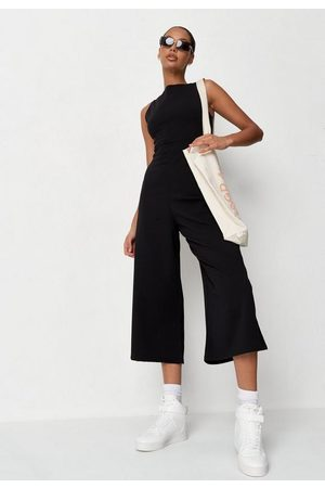 Missguided Racer Neck Culotte Romper