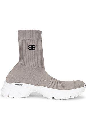 Balenciaga Women Sneakers - Speed 3.0 Sneakers in Grey