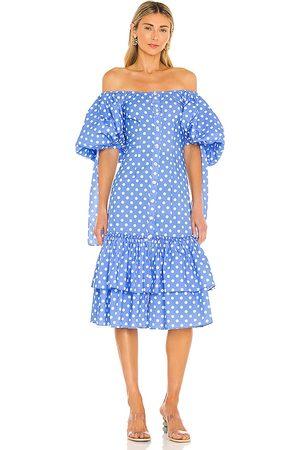 Caroline Constas Nella Midi Dress in .