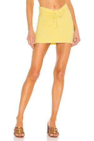 MAJORELLE Women Mini Skirts - Bobby Ruched Mini Skirt in .