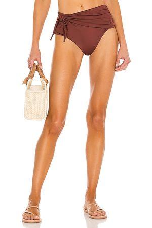 BOAMAR Tamy Bikini Bottom in Brown.
